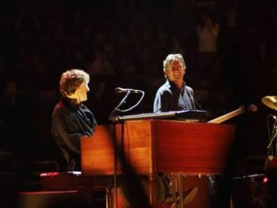 Deutschlandtour von Eric Clapton und Steve Winwood