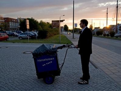 Hanselunken und Bluespfaffe auf Kulturschiff Herr Walter