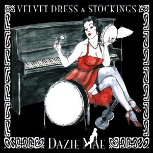 Dazie Mae – Velvet Dress & Stockings
