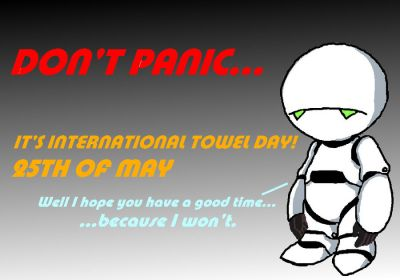 Don't Panic – It's Towel Day!