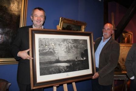 Jubiläum mit Geschenken: Barth erinnert an Maler Louis Douzette