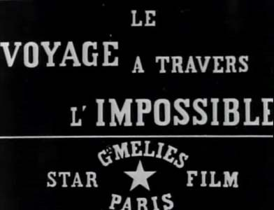 Georges Méliès – Le voyage à travers l'impossible (1904)
