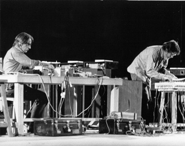 David Tudor (links) und John Cage 1971