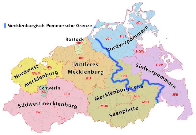 Wer die Wahl hat, hat die Qual: Vorpommern-Rügen oder Ostseekreis Stralsund