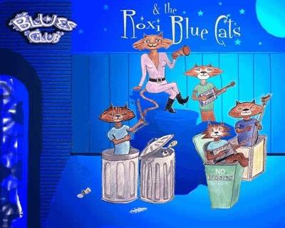 RoXi & The Blue Cats – Blues für mitternächtliche Kneipentouren