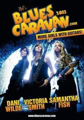 "Play it again – Blues Caravan 2012 ""More Girls With Guitars"""