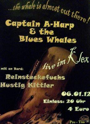 Der Wal ist schon fast da draußen – Captain A-Harp & The Blues Whales