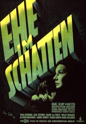 """""""DEFA-Filme zwischen Staatsauftrag und Kunst"""": Ehe im Schatten (1947)"""