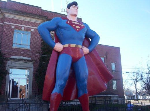 Zwischen Gefängnis und Superman