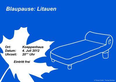 4. Juli: Blaupause: Litauen