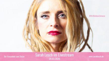 Sarah Lesch Livestream